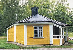 Bild 4:1. Lackerad stålplåt. Foto:Torbjörn Osterling.