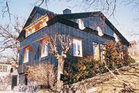 Bild 5:2. Skivtäckning, villa. Foto: Torbjörn Osterling.