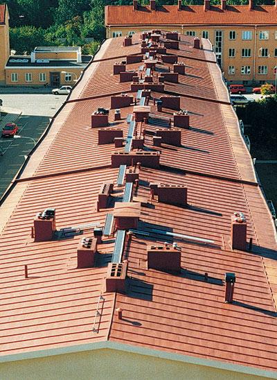 Bild 4:37. Takplan? Foto:Torbjörn Osterling.