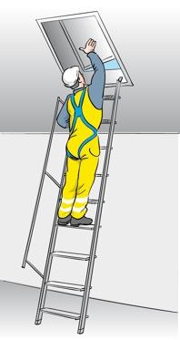 Figur 11:1. Invändig tillträdesled.