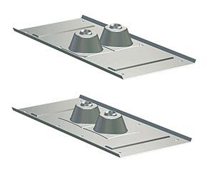 Figur 11:69. Infästningsdon för isolerade tak. Figur: Lindab Profil AB.