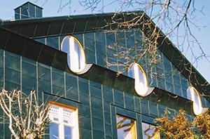 Bild 10:2. Skivtäckning som fasadbeklädnad. Foto: Torbjörn Osterling