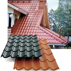 Bild 2:4. Plåttakpannor används främst på enbostadshus i stället för takpannor av tegel eller betong. Foto: SSAB Tunnplåt AB.