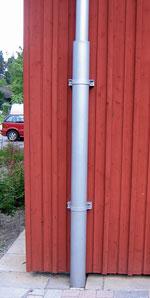 Bild 4:39. Ett bra skydd vid mark förhindrar onödiga skador. Foto:Torbjörn Osterling.