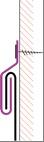 Figur10:47. Hakklammer. Används som infästning i hakfalsar och drivvattenhakar.
