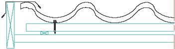 Figur 10:88. Vindskiva över takpanneplåt enligt Gasell Profil AB.