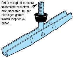 Figur 11:61. Vippankarskruv/Vippbult. Figur: Weland Stål AB.