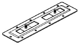 Figur 11:62. Fotplatta med glidbar underplatta. Bjarnes System AB.