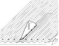 Figur 11:68. Infästningsplåt. Figur: Plannja AB.
