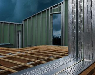 Bild 14:7. Lättreglar medger konstruktioner med hög hållfasthet.
