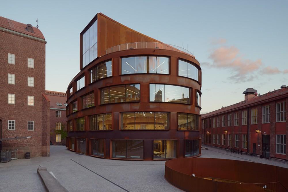 Bild 2:19. Arkitekthögskolan KTH, Stockholm. Foto: Okänd.